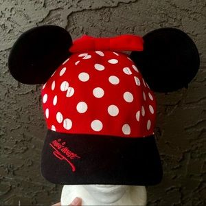 Disneyland red Minnie Mouse wars hat youth